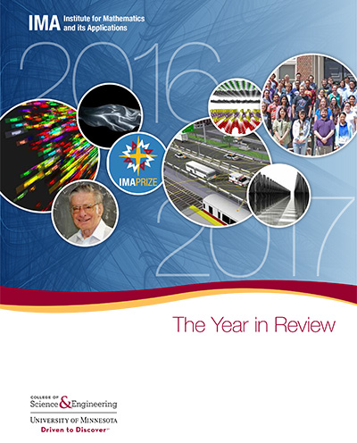 annual report cover for 2016-2017